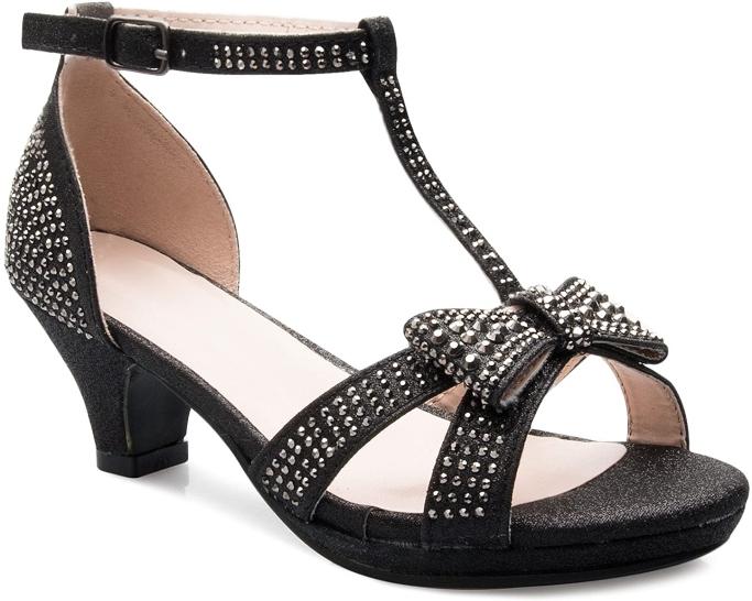 olivia k sandals, heeled sandals for little girls