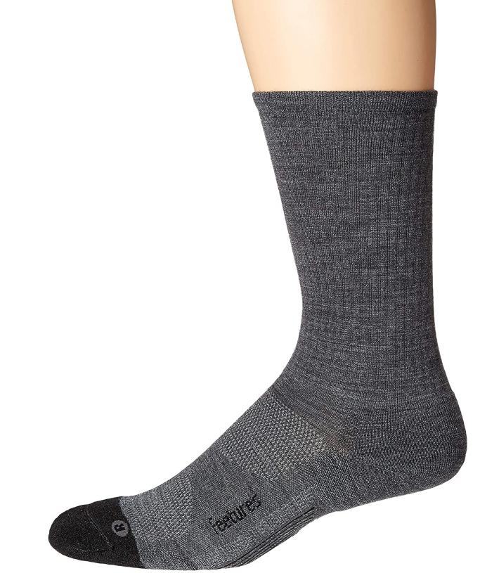 Feetures Merino 10 Cushion Crew Socks