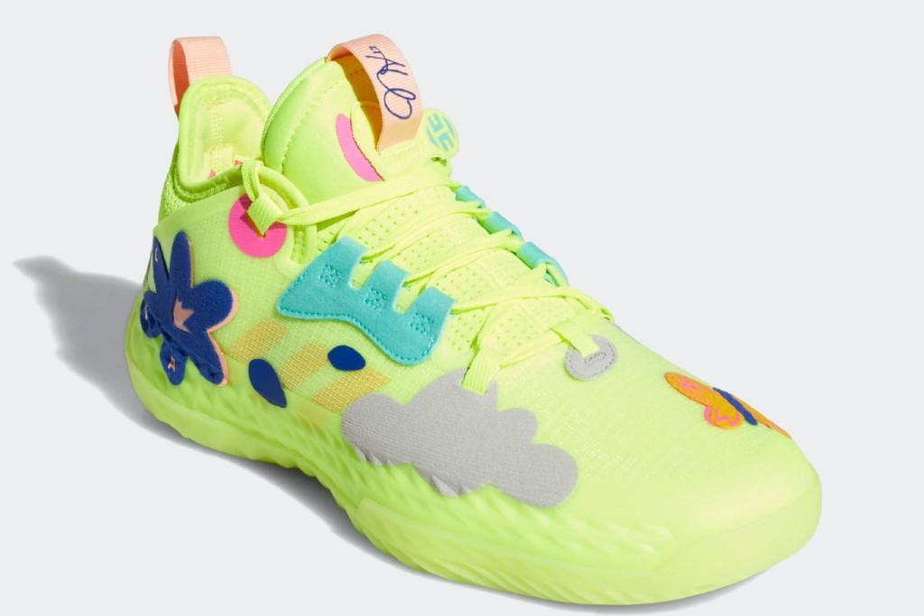 Adidas Basketball Harden Vol. 5 Futurenatural Shoes, best women's basketball shoes