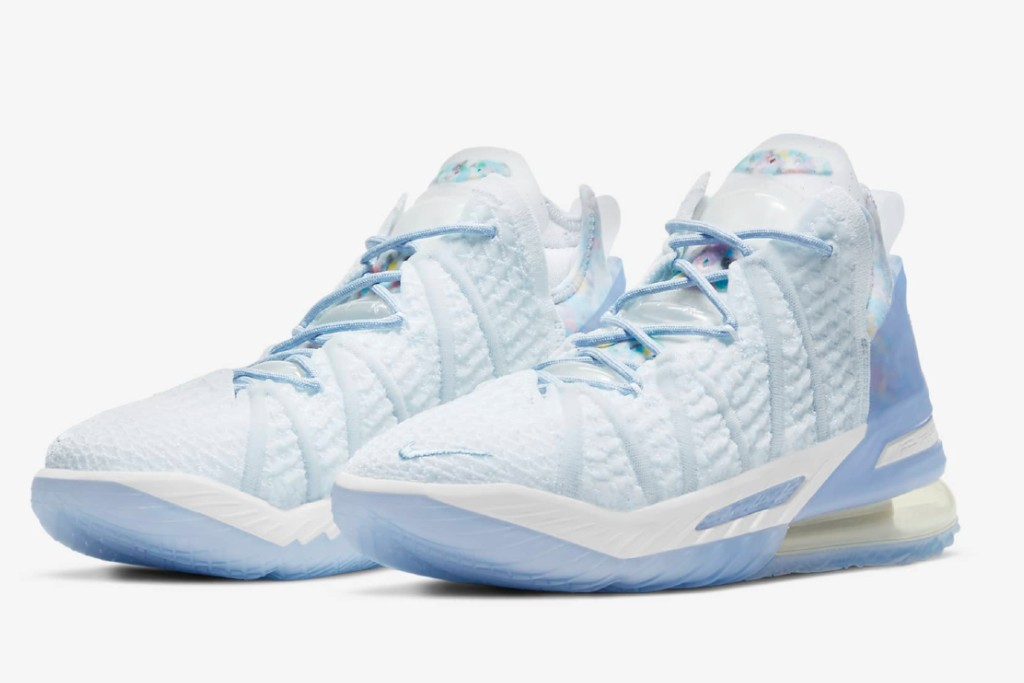 Nike LeBron 18 play for the future, best women's basketball shoes