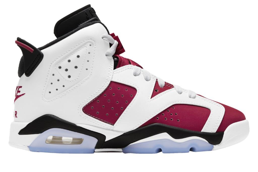 Jordan Retro 6, best boys sneakers