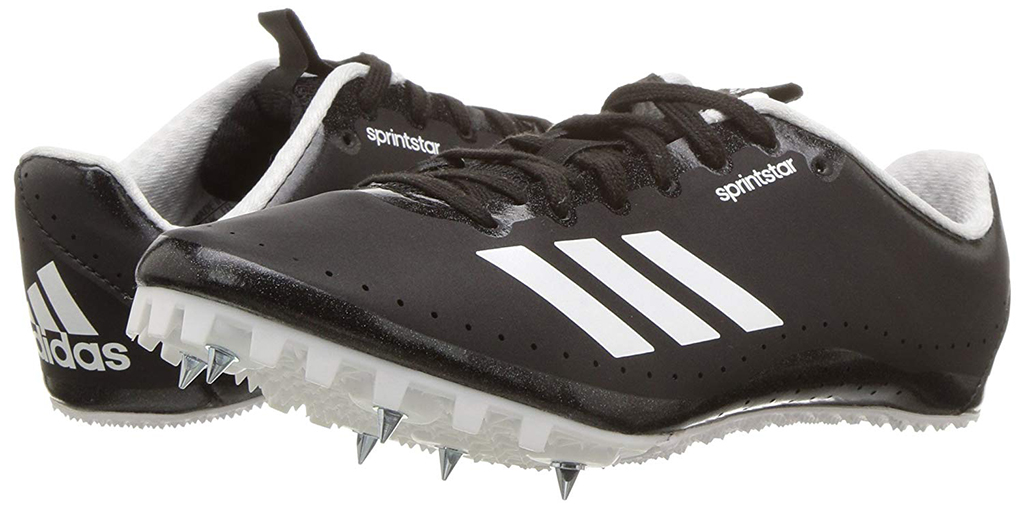 Adidas Sprintstar Track Shoes, spikes, black