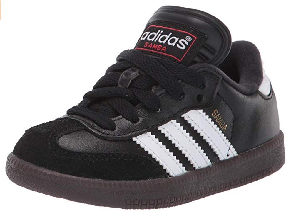 adidas samba shoes, black soccer shoes, boys, kids