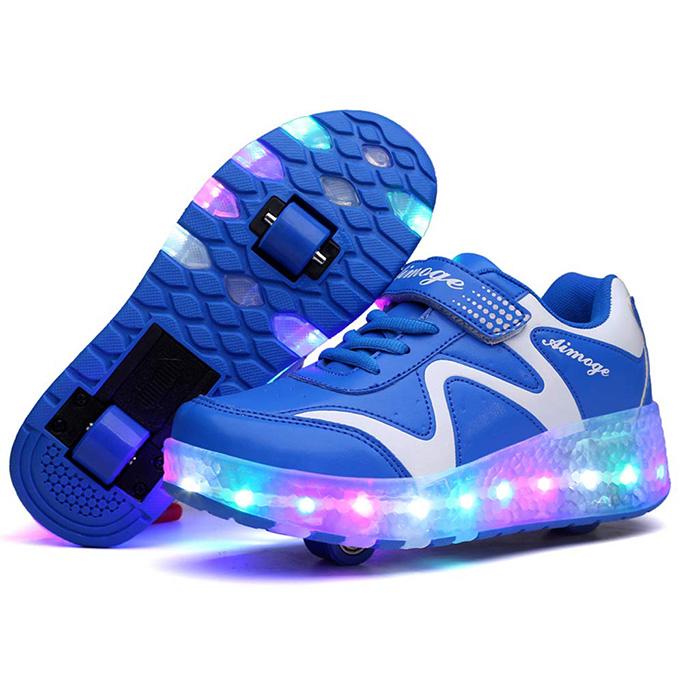 Aikuass Light-Up Roller Shoes