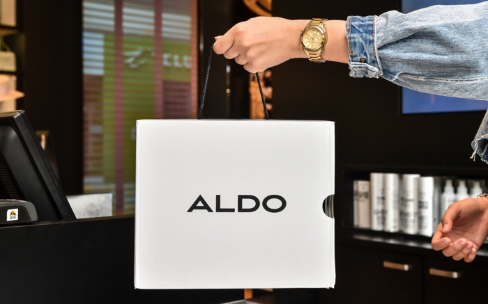 Aldo's Eco-Friendly Shoebox