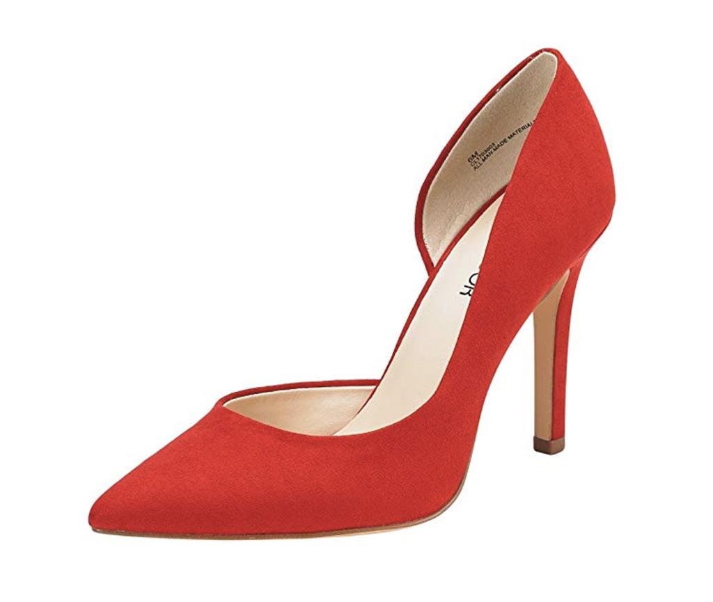 JENN ARDOR Stiletto High Heel Shoes, best classic heels amazon, women's heels