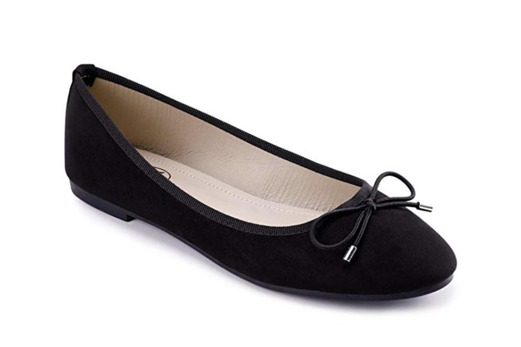 Trary Women's Classic Round Toe Slip on Ballet Flat Shoes, Amazon, Best Womens Ballet Flats, Black Ballet Flats, Also Consider