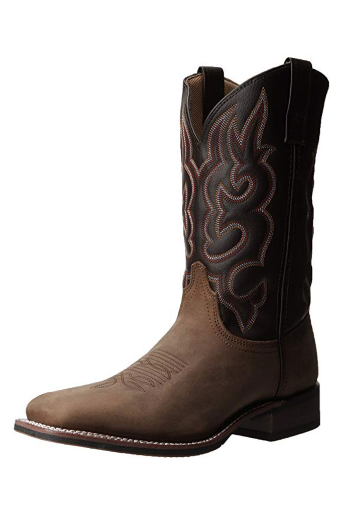 Western boot, Laredo, Lodi, taupe chocolate, shop