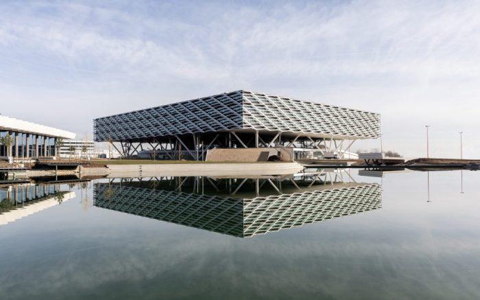 arena building, adidas headquarters, germany