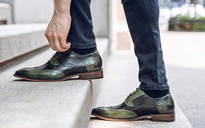 asher green oxfords, ag 100, shoes