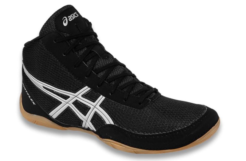 asics Matflex 5 Wrestling Shoes, mens, gum sole