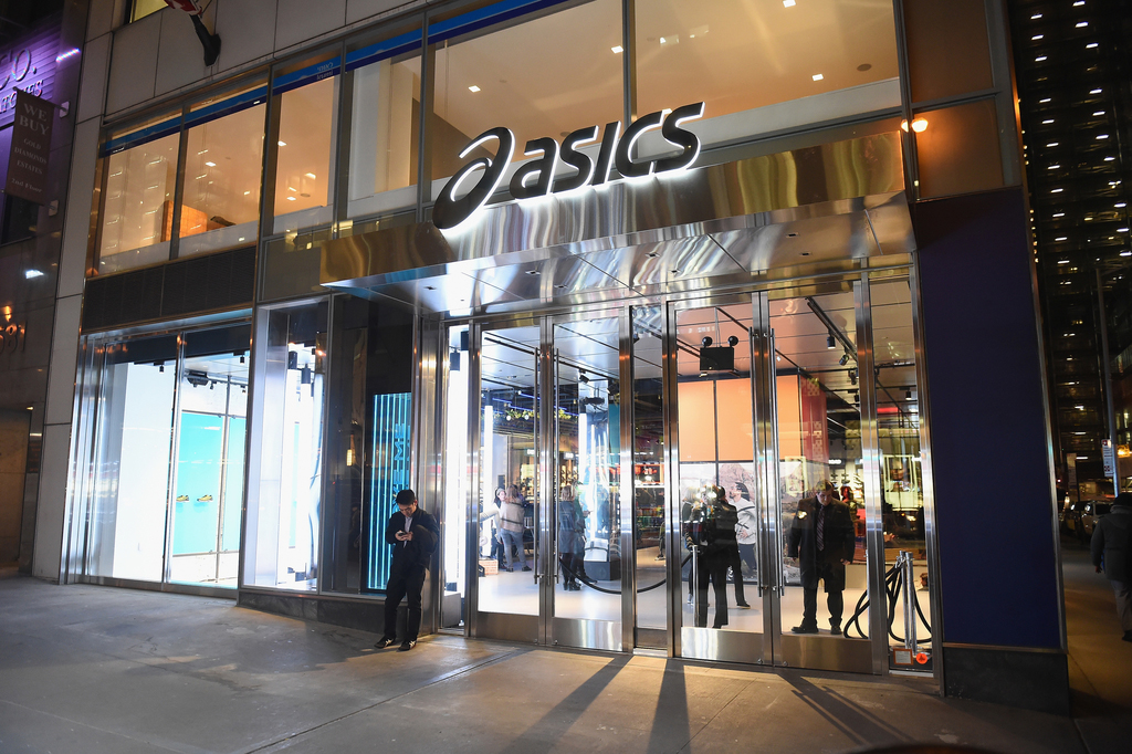 Asics New York Fifth Avenue Store