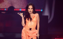 Becky G performs at Amazon Music's