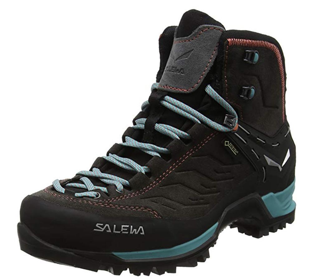 Salewa Women's Mountain Trainer Mid GTX Alpine Trekking Boot, best mountaineering boots amazon