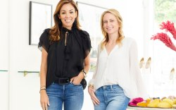 Birdies co-founders Bianca Gates (L) and