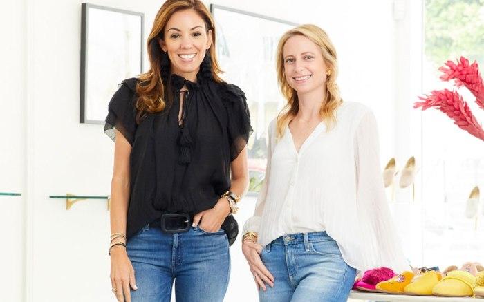 Birdies co-founders Bianca Gates (L) and Marisa Sharkey.
