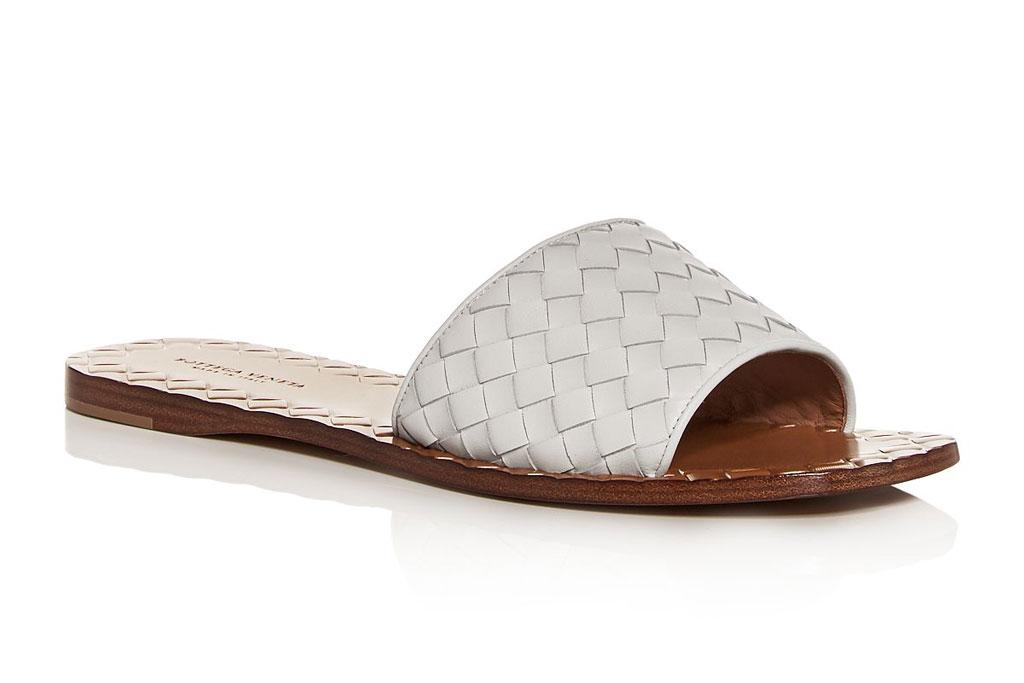 Bottega Veneta woven sandal slides