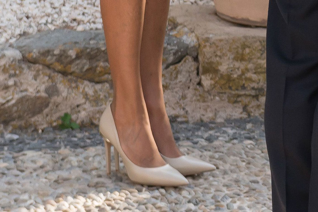 Brigitte Macron, Louis Vuitton Eyeline pump, celebrity style, France