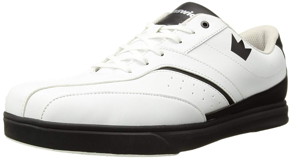 Brunswick Vapor Mens Bowling Shoe White/Black