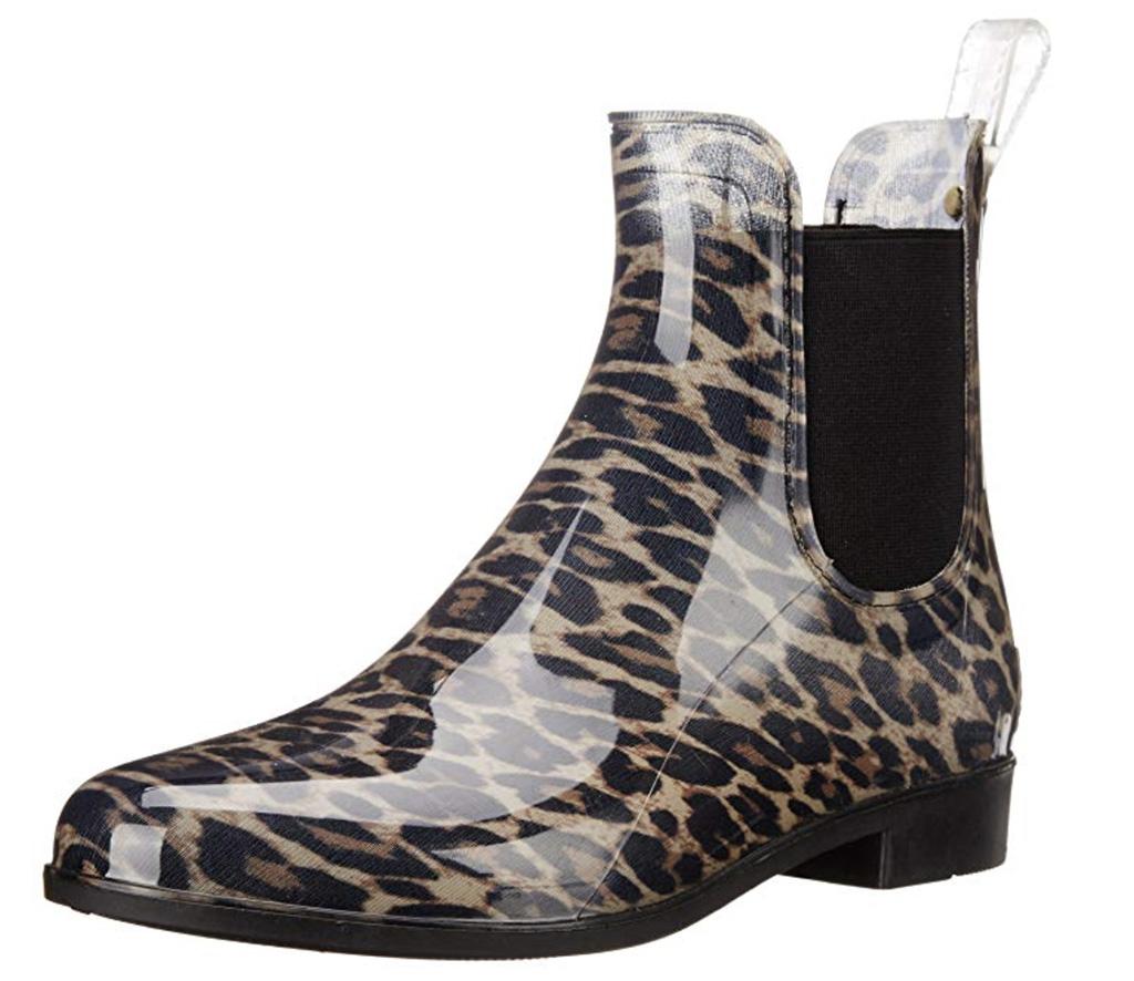 Sam Edelman Women's Tinsley Rain Boot, Best Women's Chelsea Boot, Amazon, Leopard Chelsea Boot, rainboot, fall boot trend