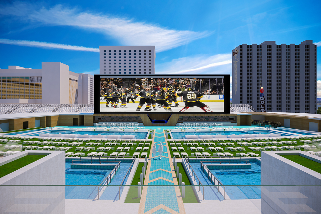 Circa Resort Casino Las Vegas Pool Amphitheater