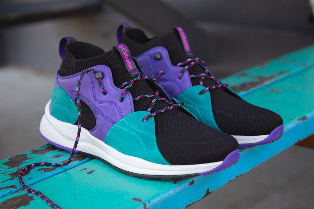 "Columbia Sh/ft OutDr Mid ""Energy Purple"""