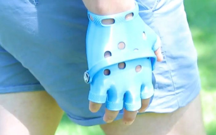 Crocs, fingerless gloves, youtube, unnecessary inventions