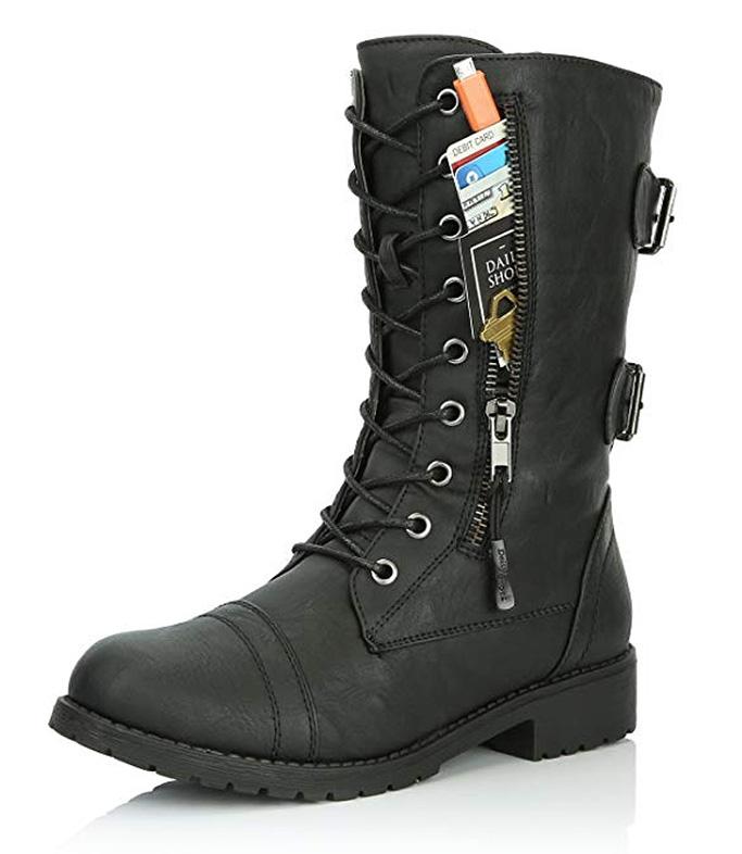 dailyshoes combat boots, women's shoes