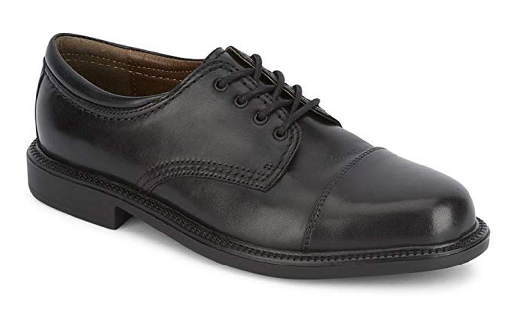 oxford captoe dockers shoes, black