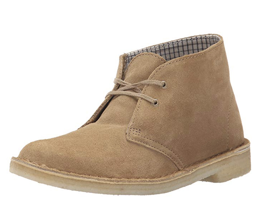 CLARKS Women's Desert Boot Ankle Bootie, best chukka boots women, Amazon, brown chukka boot