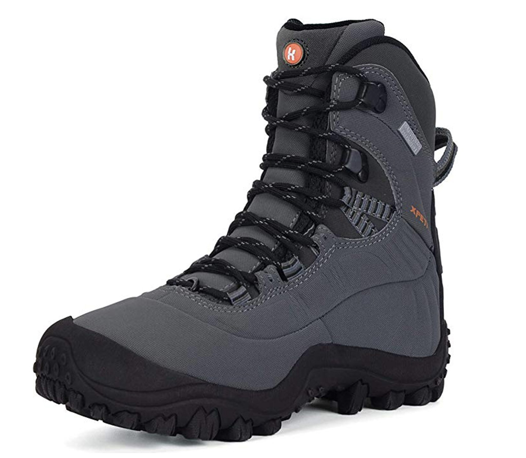 XPETI Women's Thermator Mid High-Top Waterproof Hiking Outdoor Boot, best mountaineering boots amazon