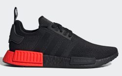 Adidas NMD_R1 Black/Red EE5107 Lateral