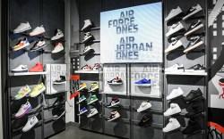 """Inside Foot Locker's """"Power Store"""" in"""