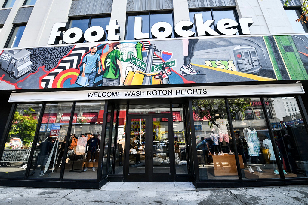 foot locker nike washington heights store