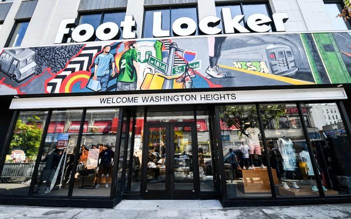foot locker nike washington heights store