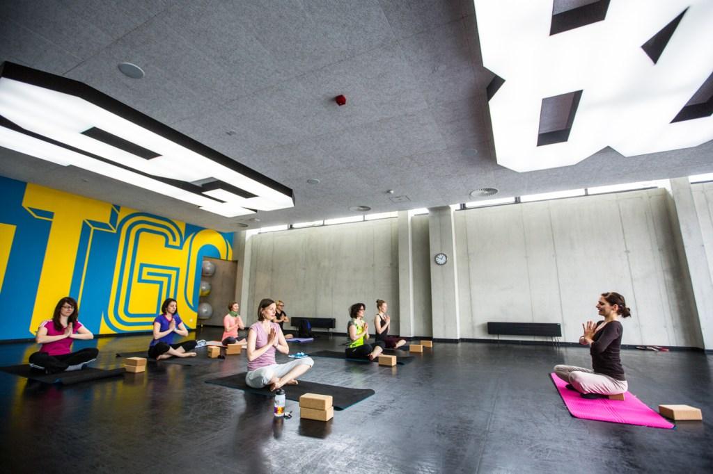 Adidas HQ, gym, yoga