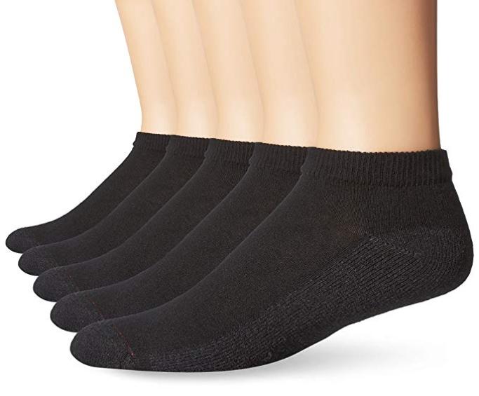 Hanes 6-Pack Low Cut Socks