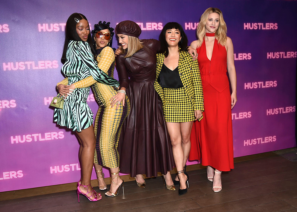 """Keke Palmer, Cardi B, Jennifer Lopez, Constance Wu, Lili Reinhart. Keke Palmer, Cardi B, Jennifer Lopez, Constance Wu, and Lili Reinhart arrive at a photo call for """"Hustlers"""" at The Four Seasons on in Beverly Hills, Calif""""Hustlers"""" Photo Call, Los Angeles, USA - 25 Aug 2019"""