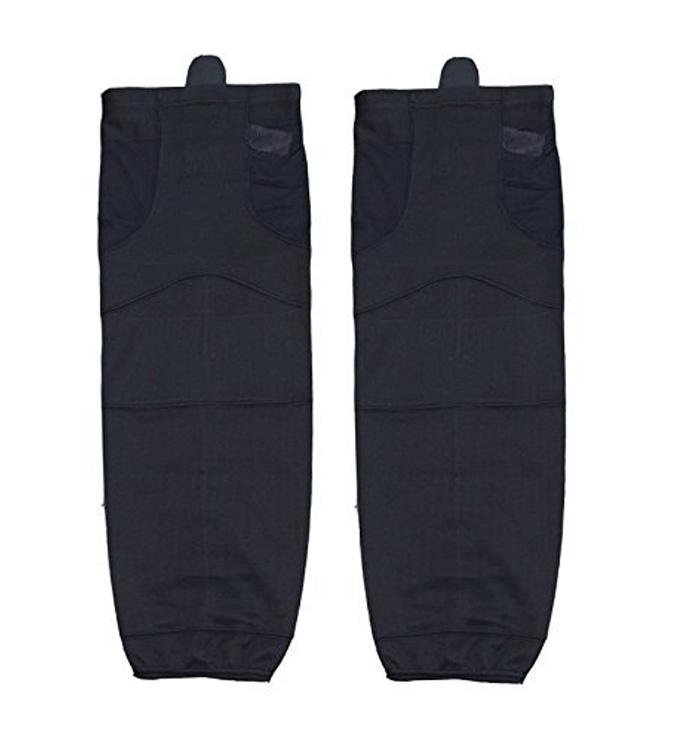 Ealer Adult Knit Ice Hockey socks, Dry-Fit Socks, black