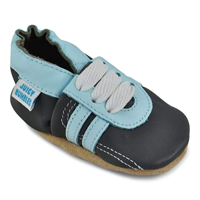 Juicy Bumbles leather baby boy shoes