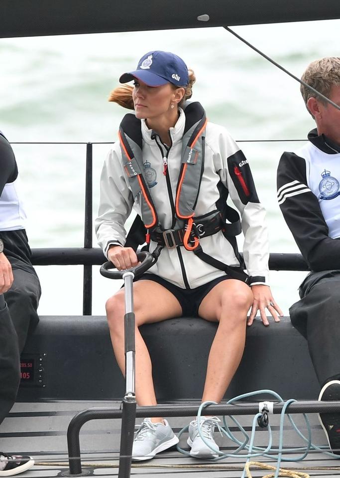 kate middleton, King's Cup Sailing Regatta, new balance sneakers