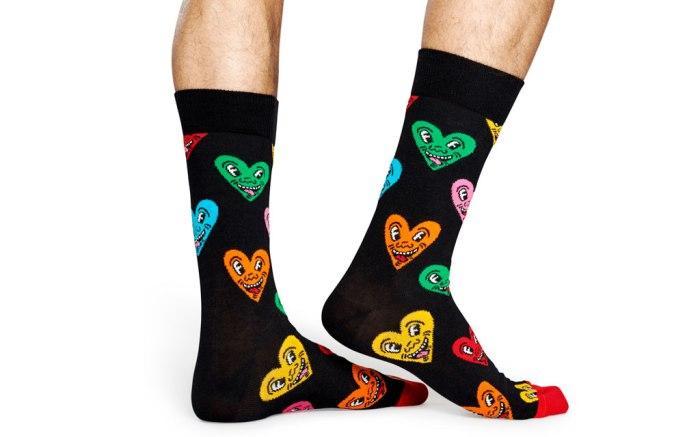 Happy Socks x Keith Haring, Heart, socks