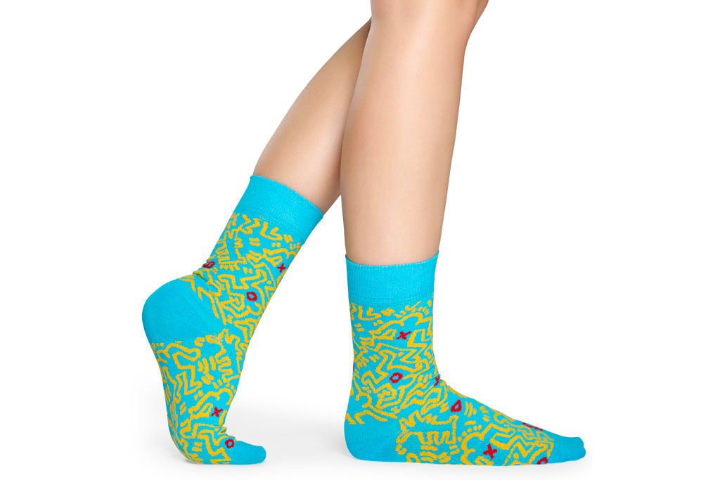 Happy Socks x Keith Haring , All Over, socks, collaboration