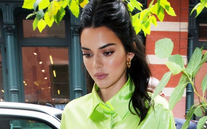 Kendall Jenner, celebrity style, nyc, amina muaddi
