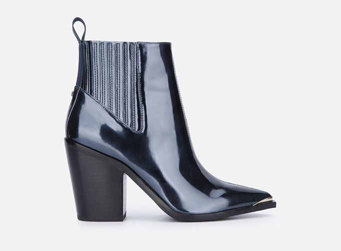 Kenneth Cole West Side Block Heel Bootie