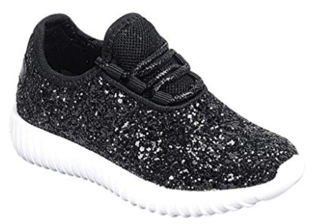 Link Lace up Rock Glitter Fashion Sneaker
