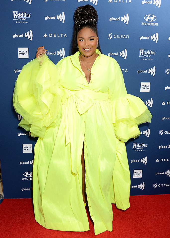 Lizzo30th Annual GLAAD Media Awards, Arrivals, Los Angeles, USA - 28 Mar 2019