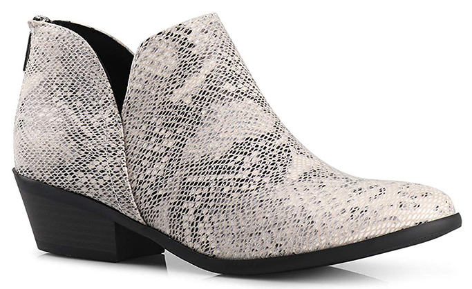 LustHave Madeline Western Bootie