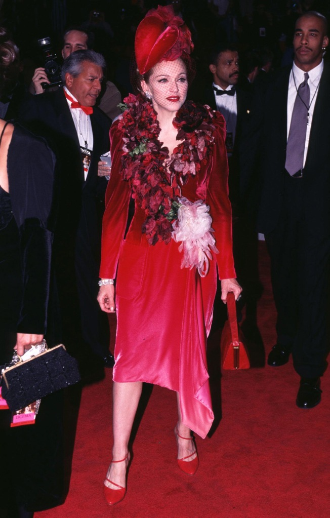 MadonnaEVITA FILM PREMIERE IN LOS ANGELES, AMERICA - 1996
