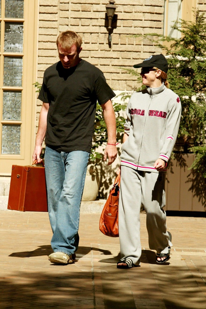 MADONNA AND HUSBAND GUY RITCHIEVarious events- 17 Sep 2002